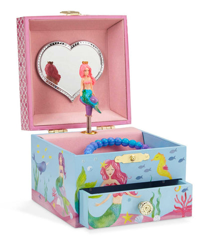 mermaid musical jewelry box
