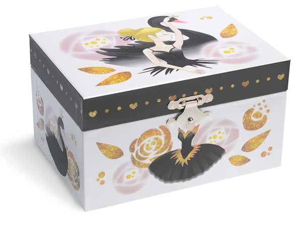 black swan music box