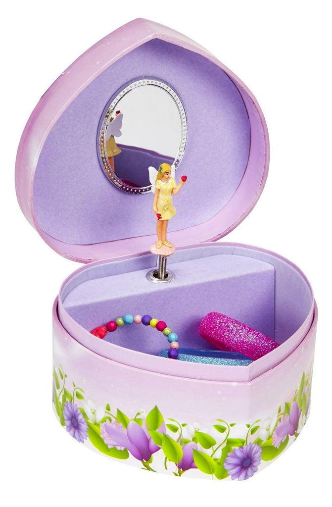 heart musical jewelry box