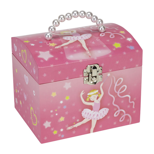 pearl handle jewelry box