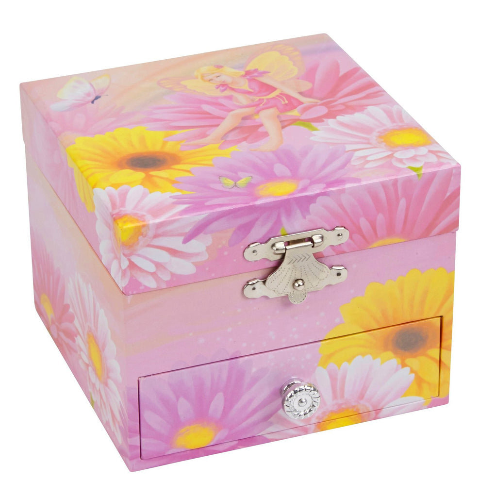 Floral Musical Jewelry Box Flower Fairy Jewelkeeper Ikon Design