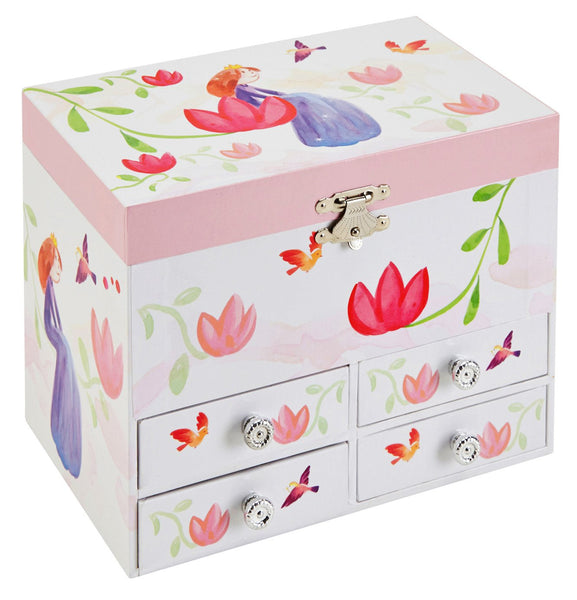 Miranda Musical Jewelry Chest w/ Drawers