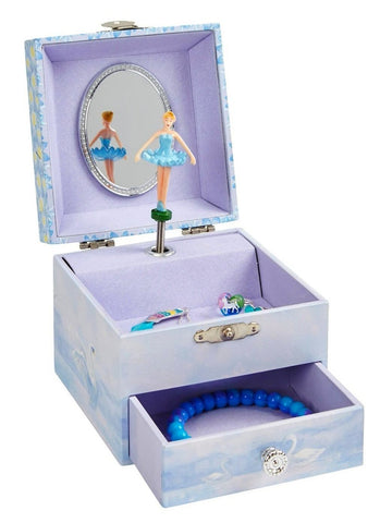 swan lake musical jewelry box