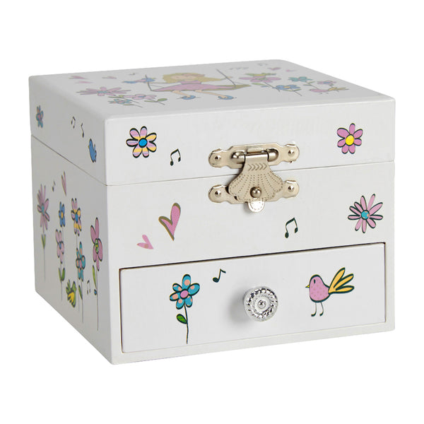 girl princess musical jewelry box