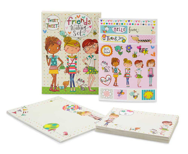 kids writing set