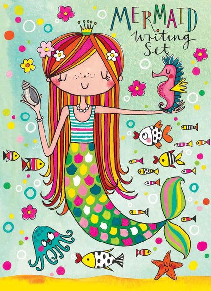 Princess Mermaid Stationery Writing Set
