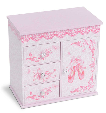 Pink Musical Jewelry Box