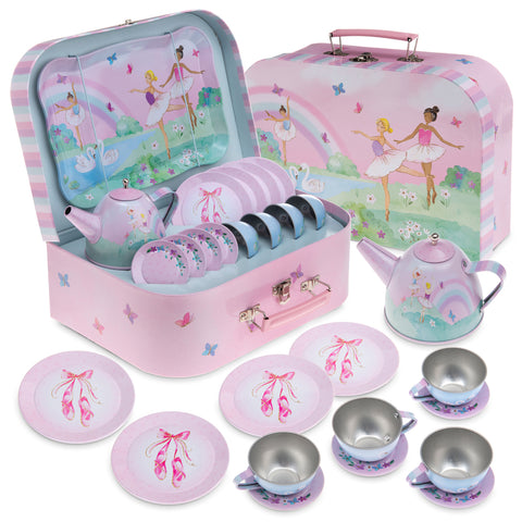 15pc. Ballerina Tea Party Set