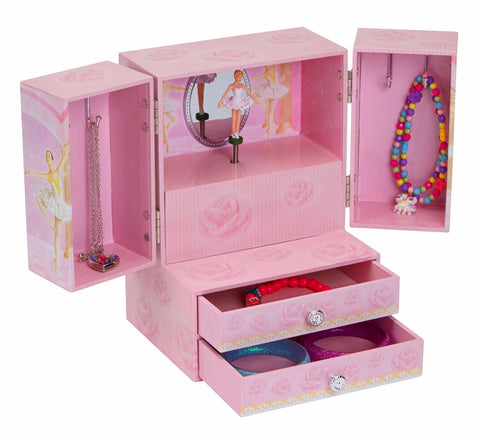 Ballerina Musical Jewelry Box