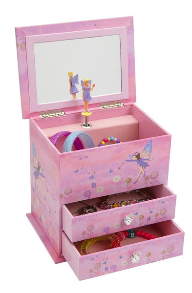 Pink Musical Fairy Jewelry Box