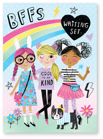 Cool Girls BFF Stationery Writing Set
