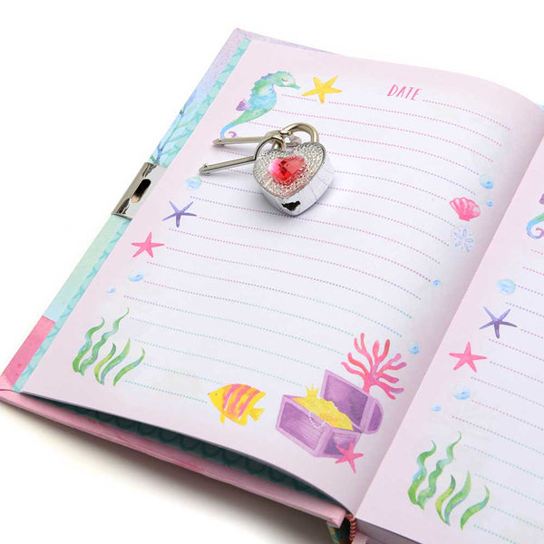 girls locking journal