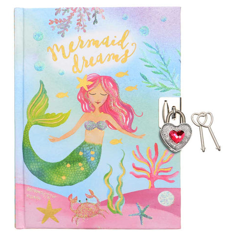 girls diary with lock and key