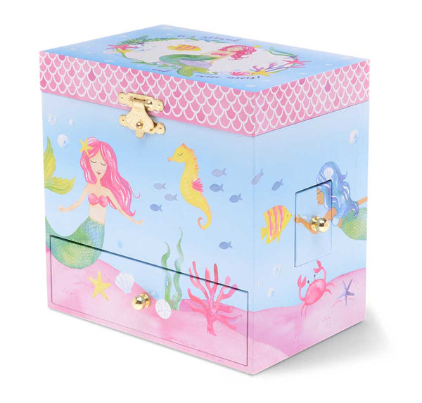 little mermaid musical jewelry box