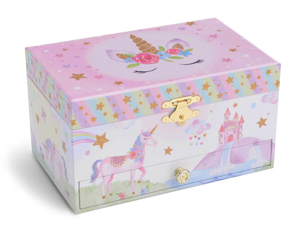 music box with unicorn