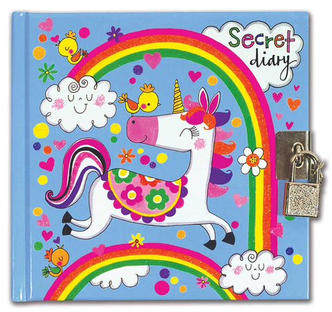 unicorn locking diary