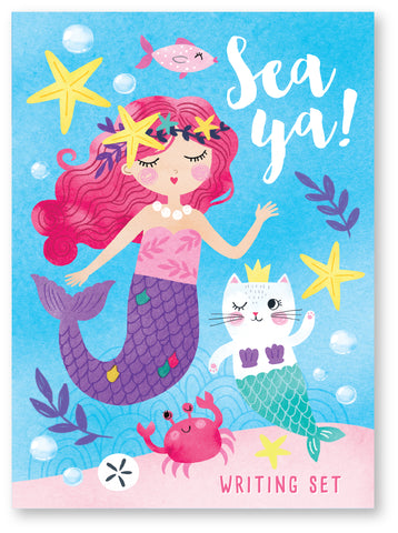 Mermaid Stationery Writing Set