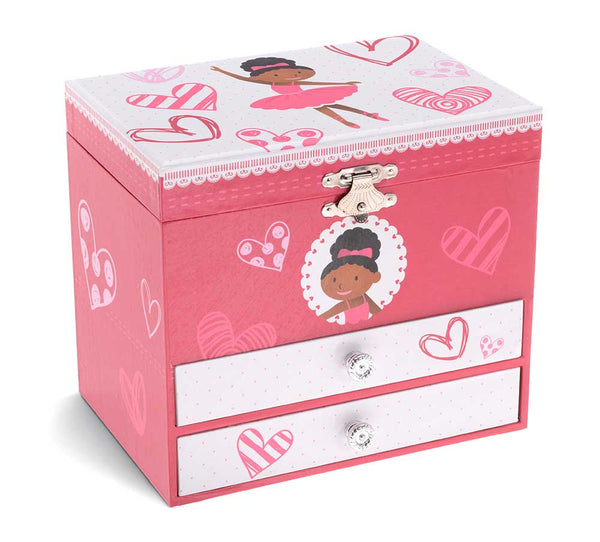 nia ballerina jewelry box