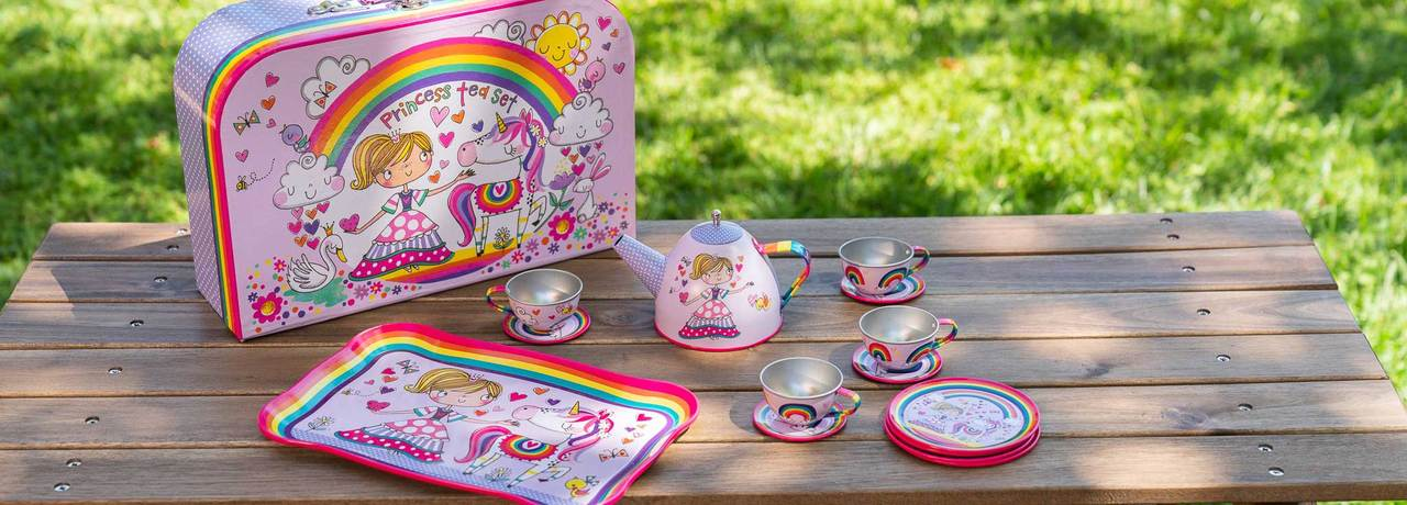 girls tea set