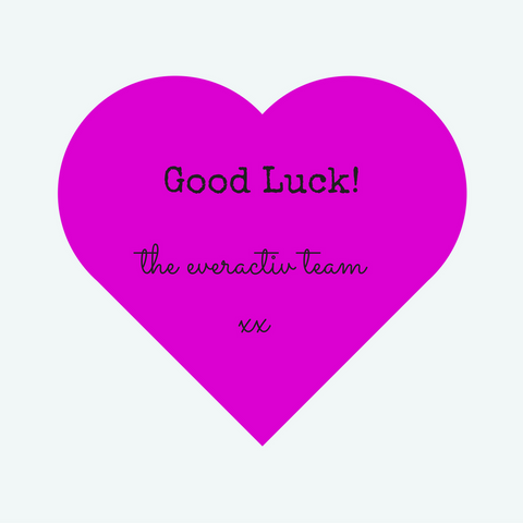 Good luck message from everactiv