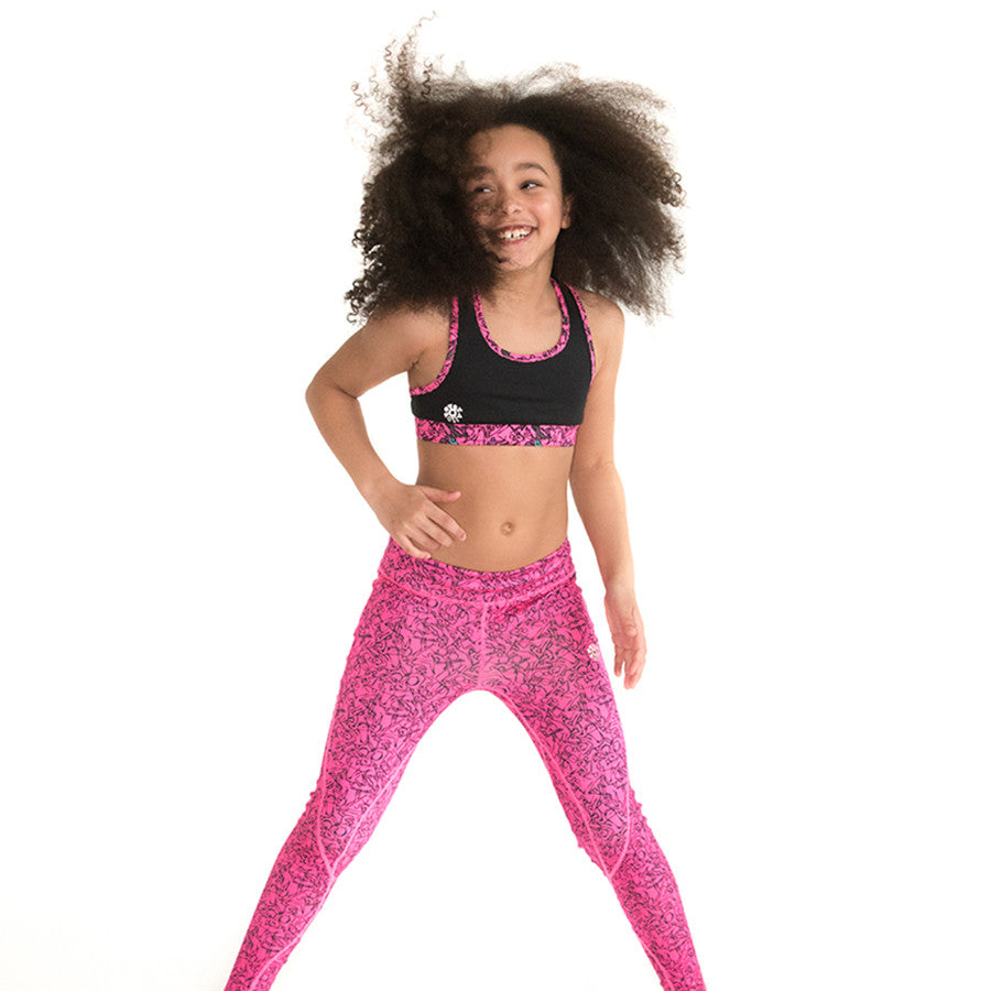 Girls Sports Leggings & Sports Tights
