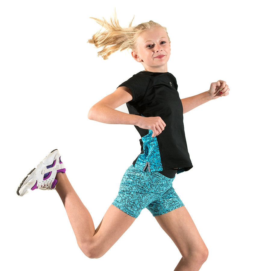 Girls Sports Shorts & Running Shorts