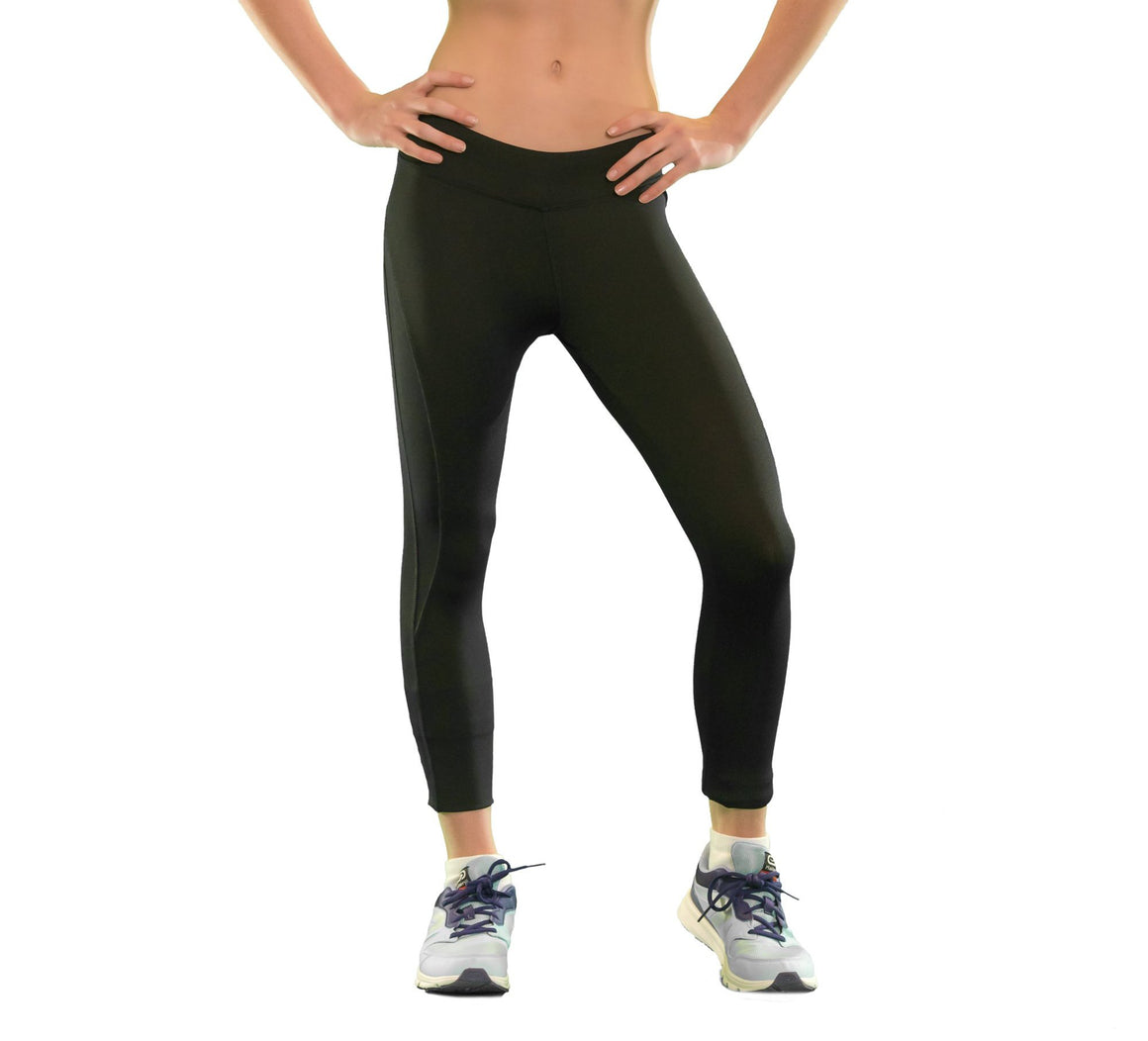 Girls core elite leggings/tights front