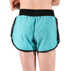 Girls Sports Fitness Running Shorts Blue