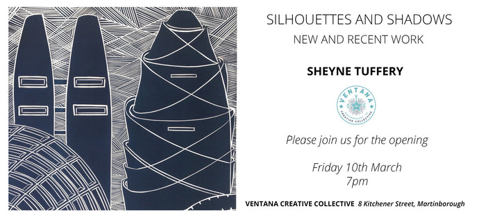 Silhouettes and Shadows opens Friday 10th March, 7pm