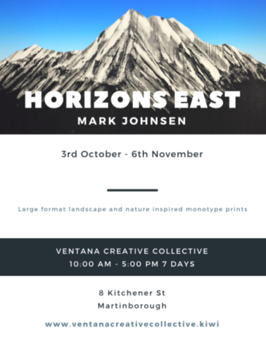 'Horizons East' 3rd October - 6th November