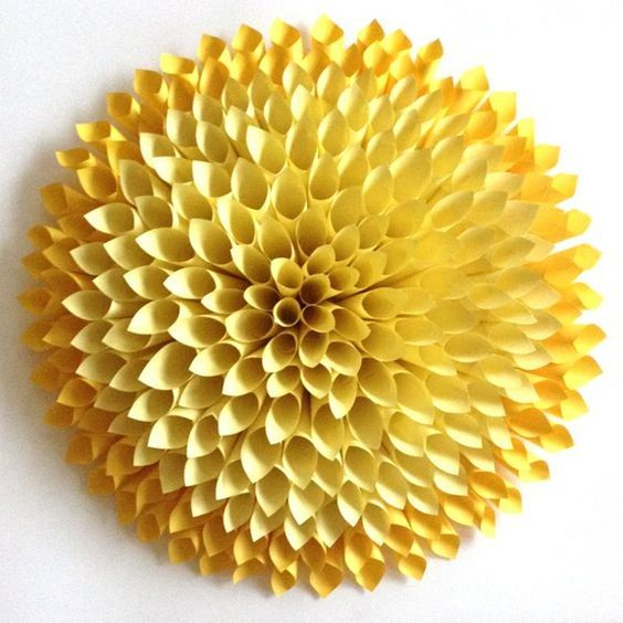 Paper Dahlia Workshop