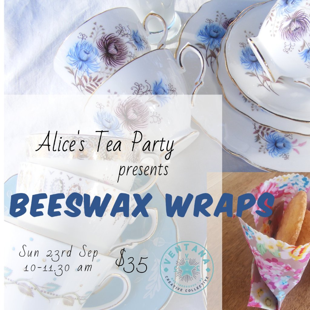 Beeswax Wrap Tea Party
