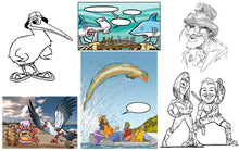 Cartoons, Comics & Caricatures