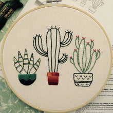 Garden of Pricks Embroidery Workshop