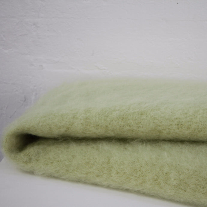 Windermere Mohair Blanket - Avocado