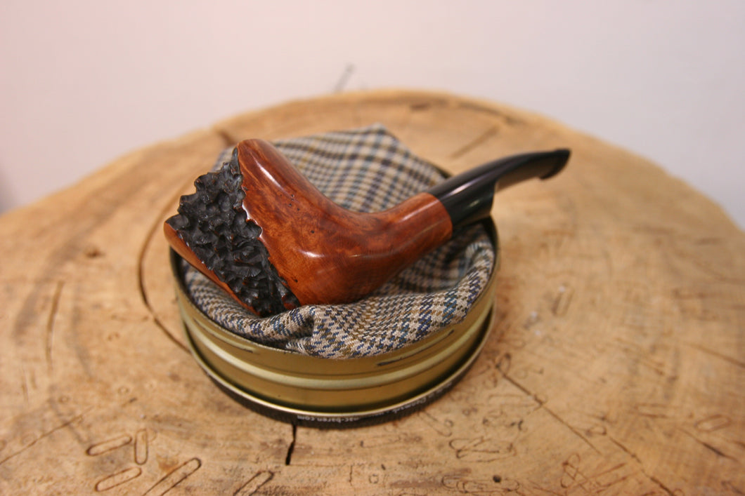 Algerian Briar and Ebonite Pipe