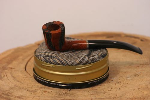 Algerian Briar and Ebonite w/ Jade Acrylic Trim