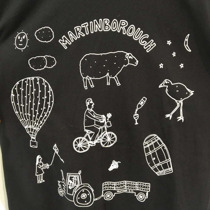 Black Womens Martinborough Shirt