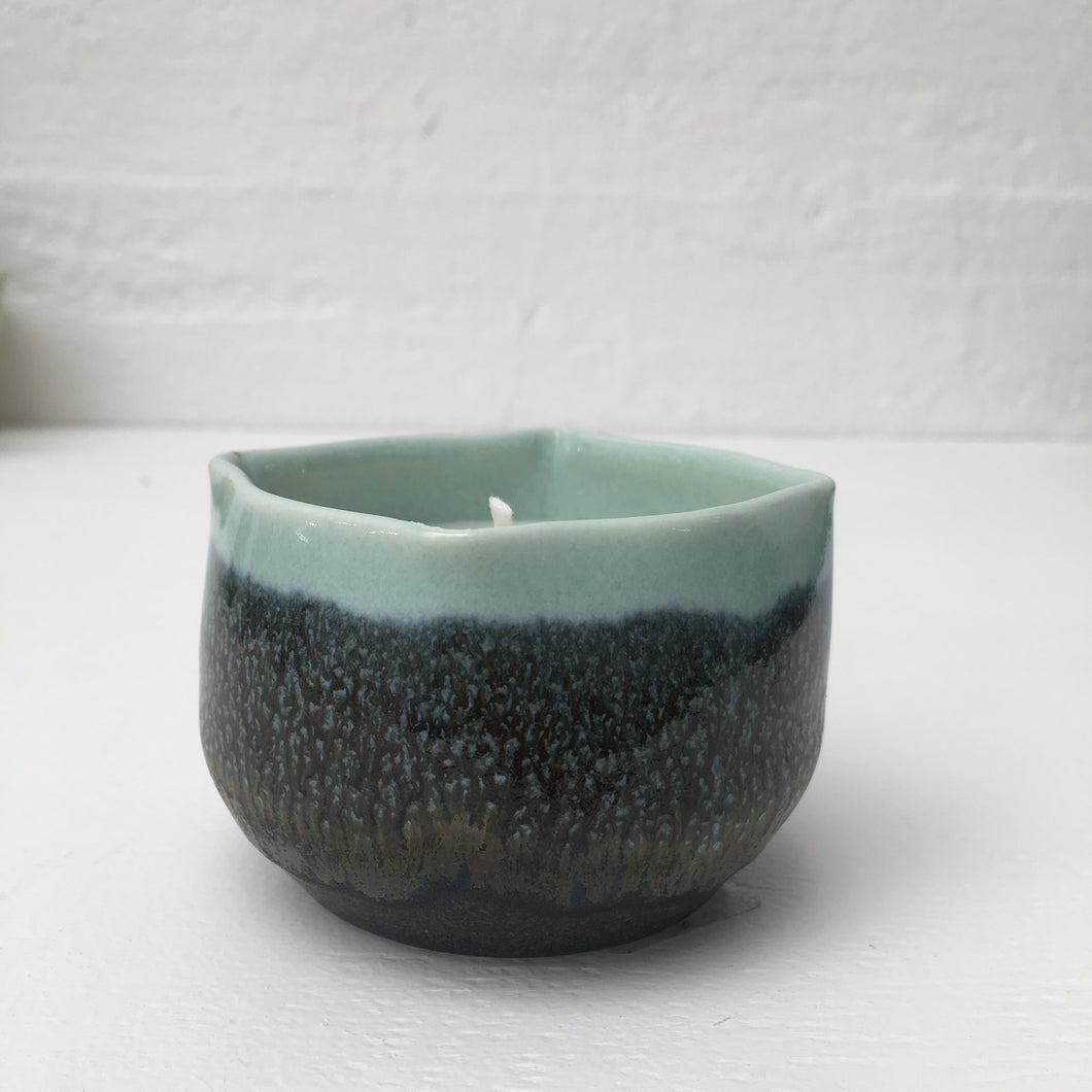 Candle in Ceramic Tumbler