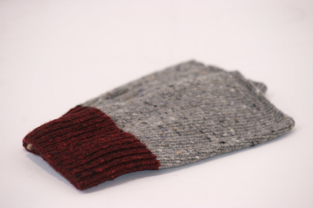 Merino Wool Fingerless Mittens