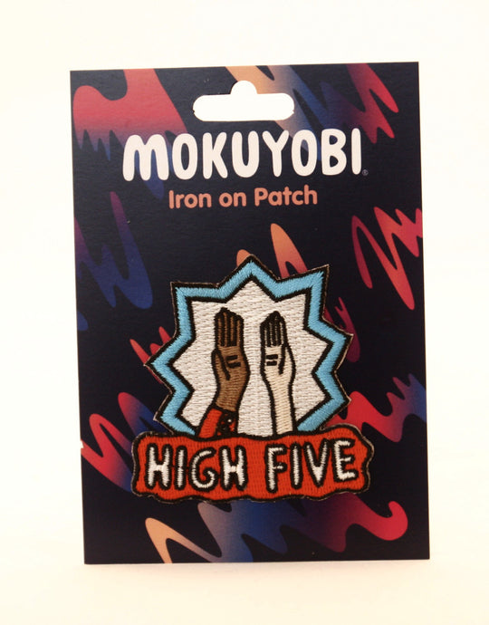 High Five Embroidered Patch