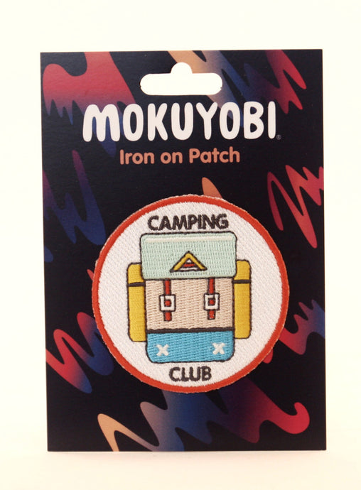 Camping Club Embroidered Patch