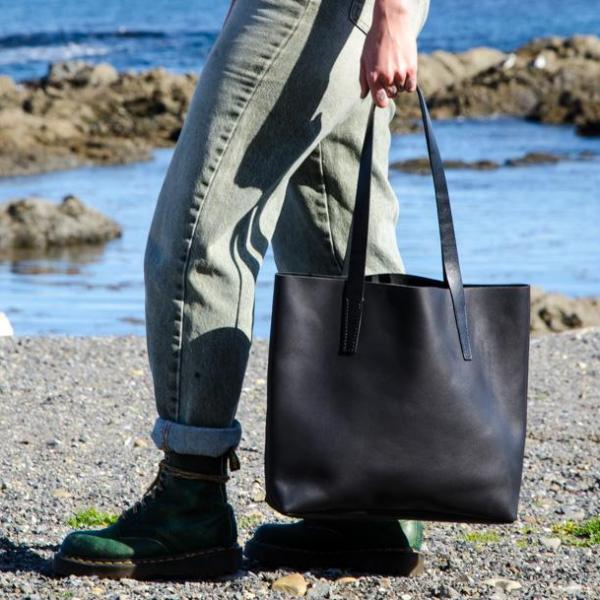 Handcrafted Leather Tote