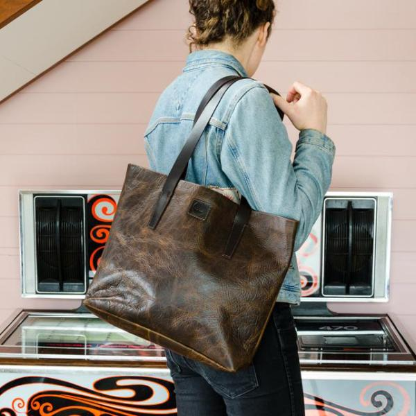 Handcrafted Leather Tote // Ruckle