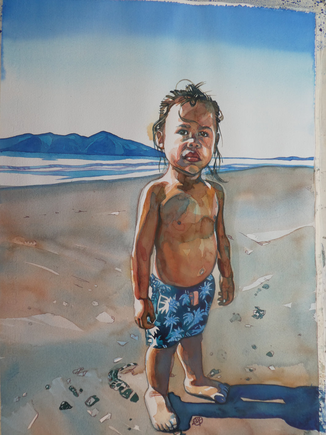 Watercolour Portraits with Joya de Geus
