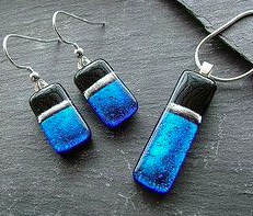 Glass Earrings and Pendant Jewellry Set Workshop