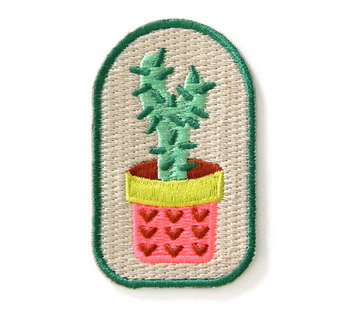 Cactus Plant Embroidered Patch