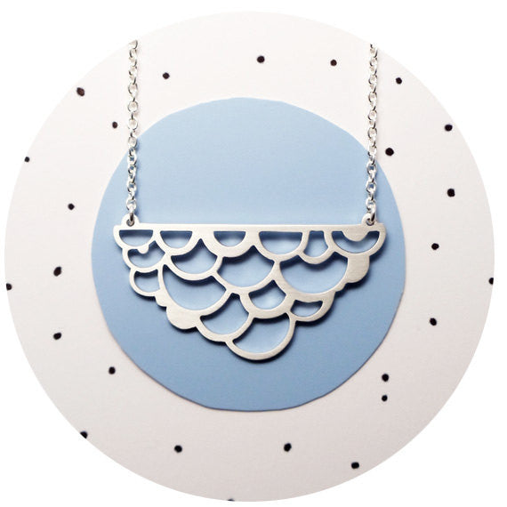 Sterling Cumulus Necklace
