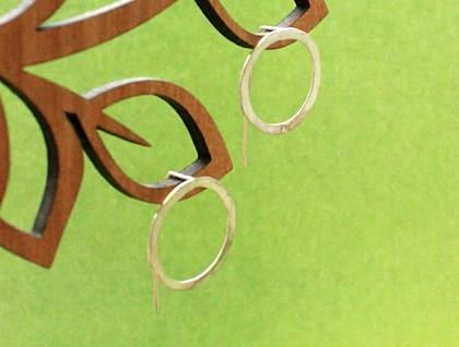Single Circle Earrings