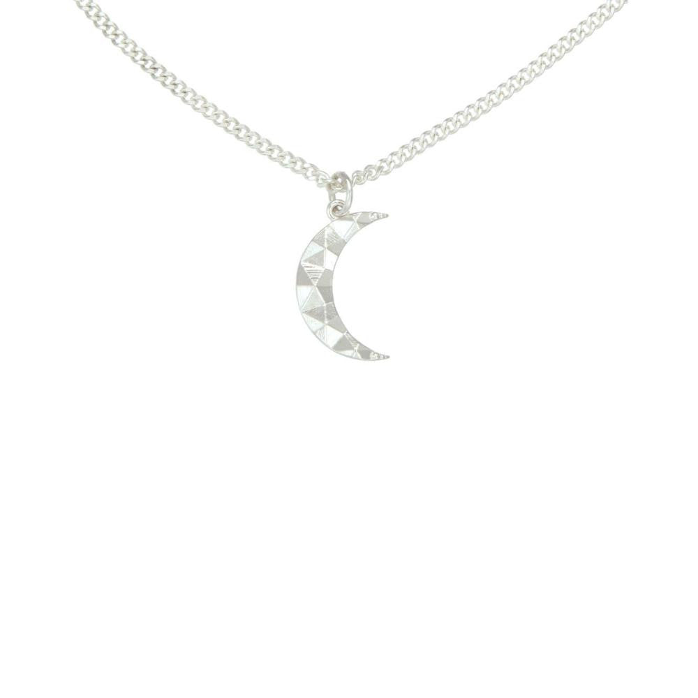 Silver Luna Necklace